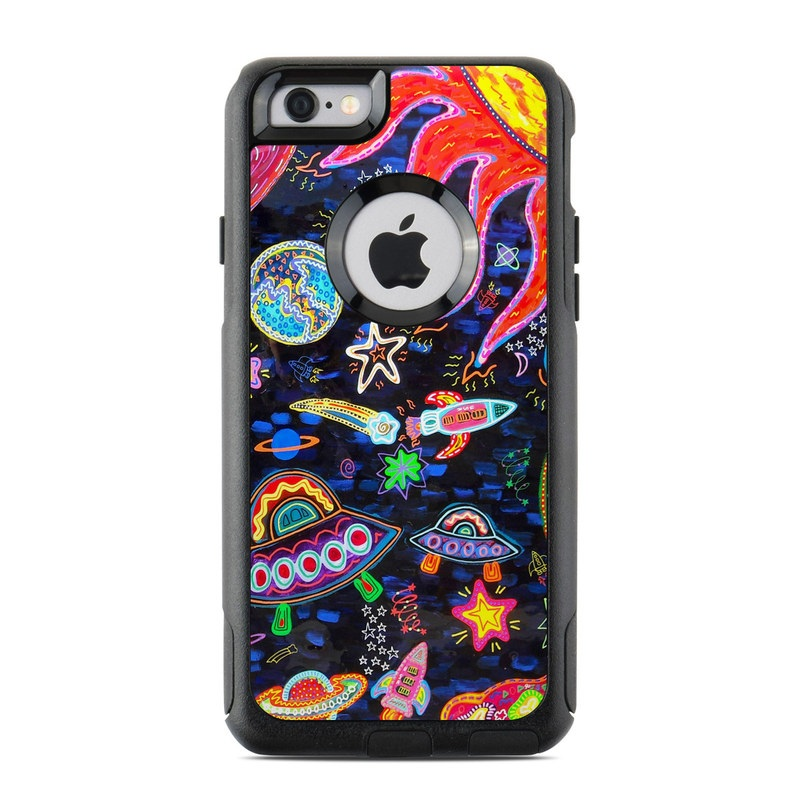Out to Space OtterBox Commuter iPhone 6s Skin