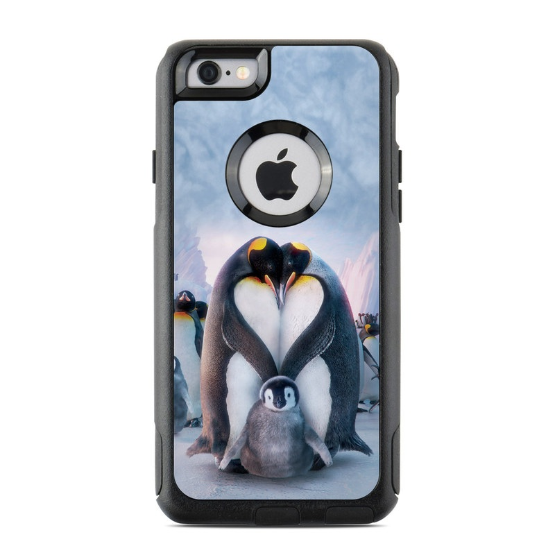 Penguin Heart OtterBox Commuter iPhone 6s Skin