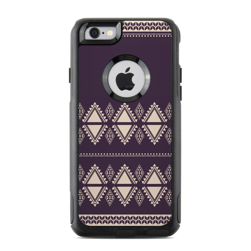 Plum Cozy OtterBox Commuter iPhone 6s Skin