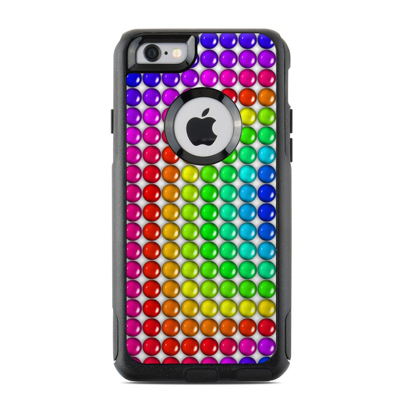 Rainbow Candy OtterBox Commuter iPhone 6s Case Skin