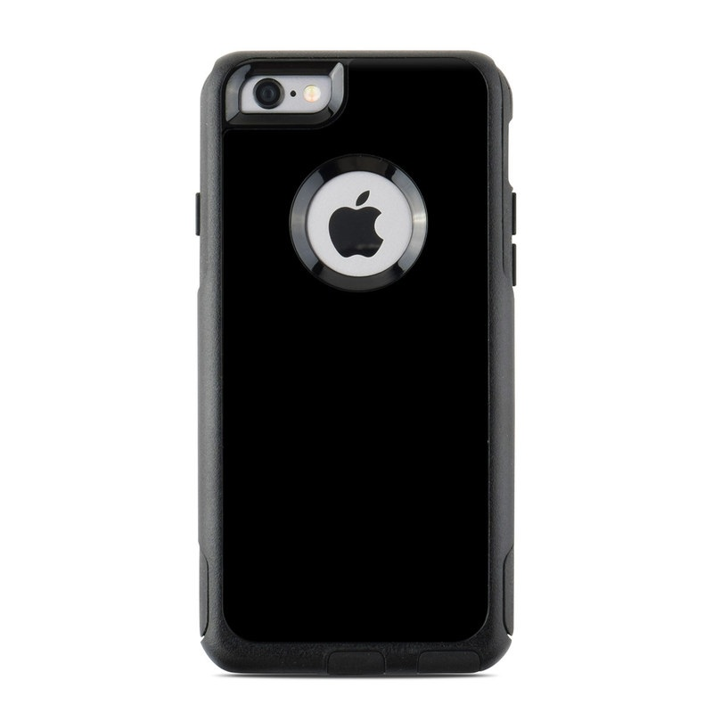 Solid State Black OtterBox Commuter iPhone 6s Case Skin