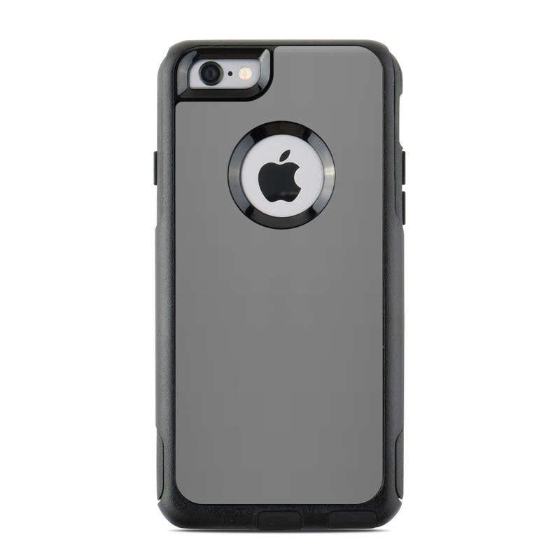 Solid State Grey OtterBox Commuter iPhone 6s Case Skin