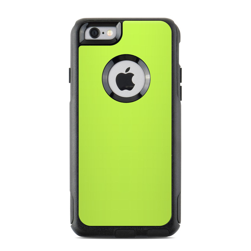 Solid State Lime OtterBox Commuter iPhone 6s Skin