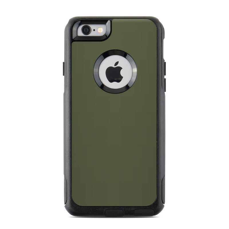 Solid State Olive Drab OtterBox Commuter iPhone 6s Case Skin