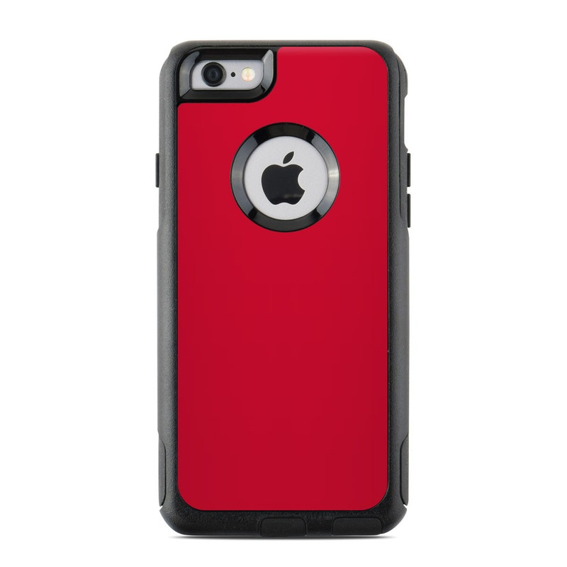 online retailer 15a47 845d1 Solid State Red OtterBox Commuter iPhone 6s Case Skin