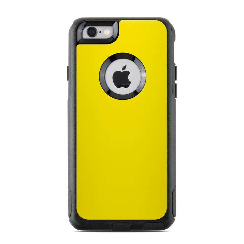 Solid State Yellow OtterBox Commuter iPhone 6s Case Skin