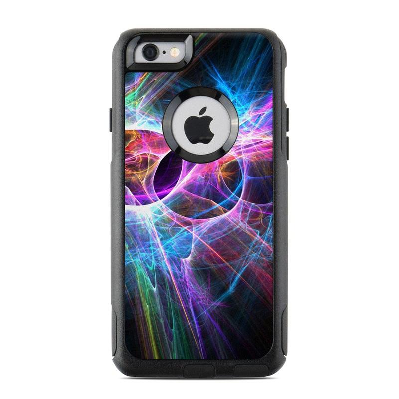 d73356b4563 OtterBox Commuter iPhone 6s Case Skin design of Fractal art, Light,  Pattern, Purple