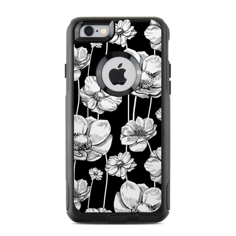 Striped Blooms OtterBox Commuter iPhone 6s Skin
