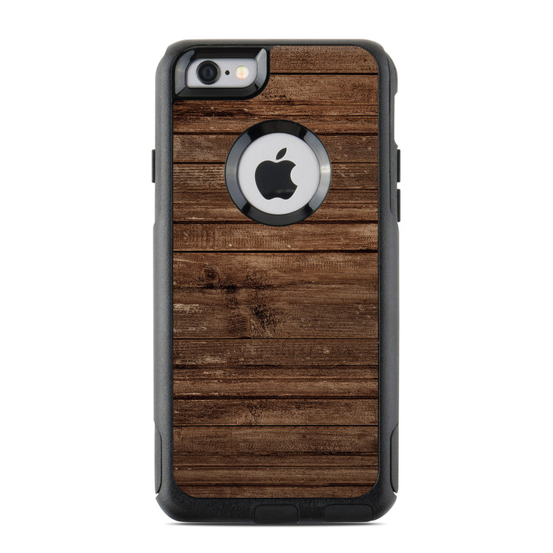 Stripped Wood OtterBox Commuter iPhone 6s Case Skin