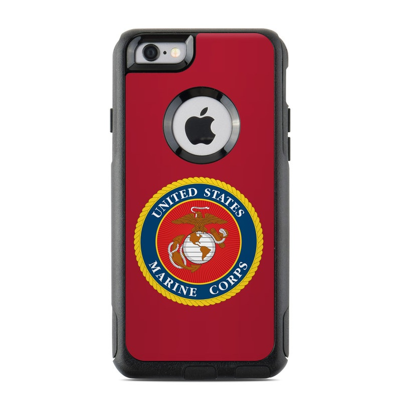 USMC Red OtterBox Commuter iPhone 6s Skin