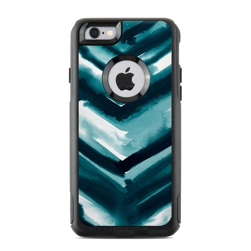 best website 3689e 29348 Watercolor Chevron OtterBox Commuter iPhone 6s Case Skin