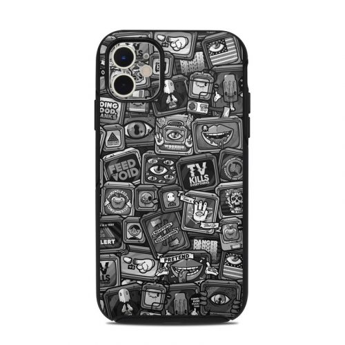 Distraction Tactic B&W OtterBox Symmetry iPhone 11 Case Skin