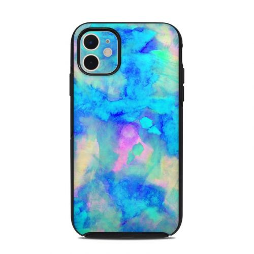 Electrify Ice Blue OtterBox Symmetry iPhone 11 Case Skin
