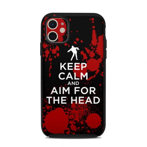 Zombie OtterBox Symmetry iPhone 11 Case Skin