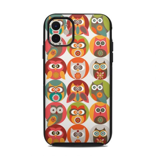 Owls Family OtterBox Symmetry iPhone 11 Case Skin