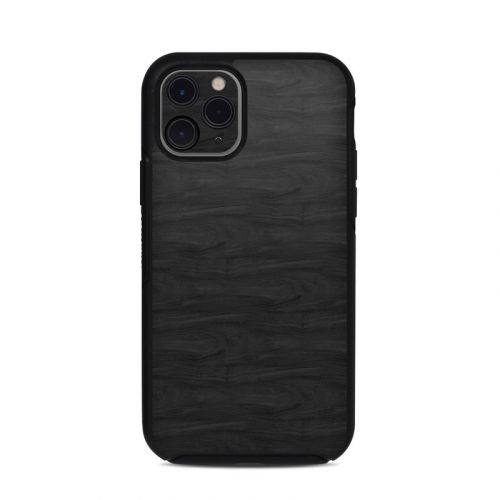 Black Woodgrain OtterBox Symmetry iPhone 11 Pro Case Skin