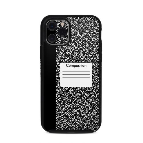 Composition Notebook OtterBox Symmetry iPhone 11 Pro Case Skin