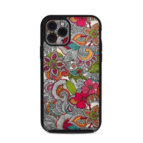 Doodles Color OtterBox Symmetry iPhone 11 Pro Case Skin