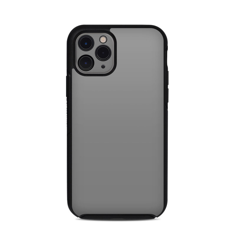 OtterBox Symmetry iPhone 11 Pro Case Skin design of Atmospheric phenomenon, Daytime, Grey, Brown, Sky, Calm, Atmosphere, Beige with gray colors