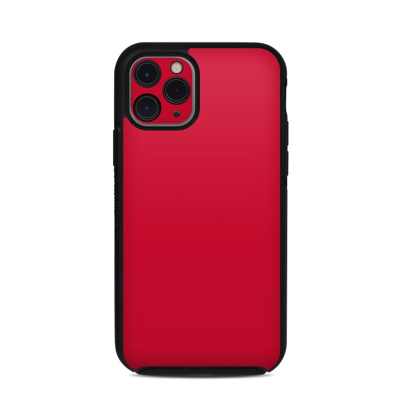 OtterBox Symmetry iPhone 11 Pro Case Skin design of Red, Pink, Maroon, Purple, Orange, Violet, Magenta, Material property, Font, Peach with red colors
