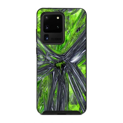 Emerald Abstract OtterBox Symmetry Galaxy S20 Ultra Case Skin