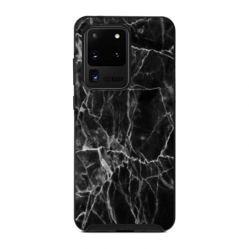Black Marble OtterBox Symmetry Galaxy S20 Ultra Case Skin