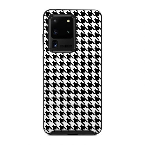 Houndstooth OtterBox Symmetry Galaxy S20 Ultra Case Skin