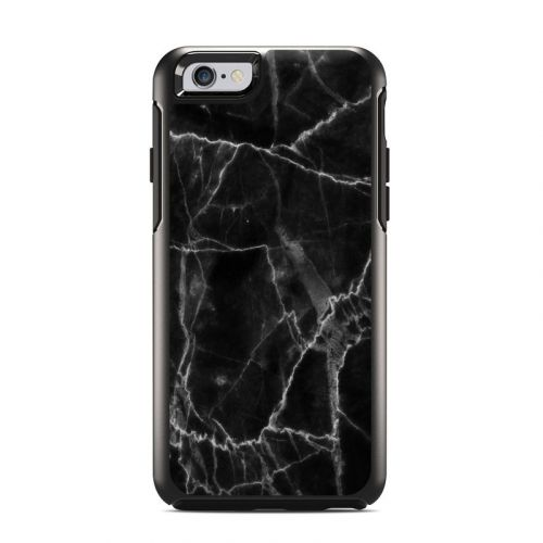 Black Marble OtterBox Symmetry iPhone 6s Case Skin