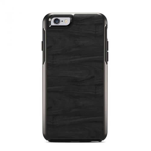 Black Woodgrain OtterBox Symmetry iPhone 6s Case Skin
