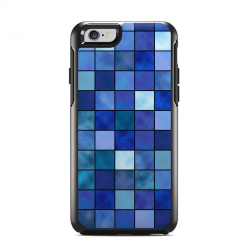 Blue Mosaic OtterBox Symmetry iPhone 6s Skin