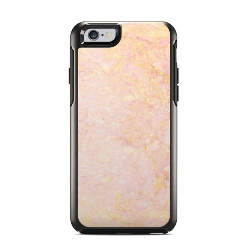 Rose Gold Marble OtterBox Symmetry iPhone 6s Case Skin