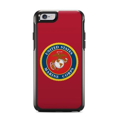 USMC Red OtterBox Symmetry iPhone 6s Case Skin