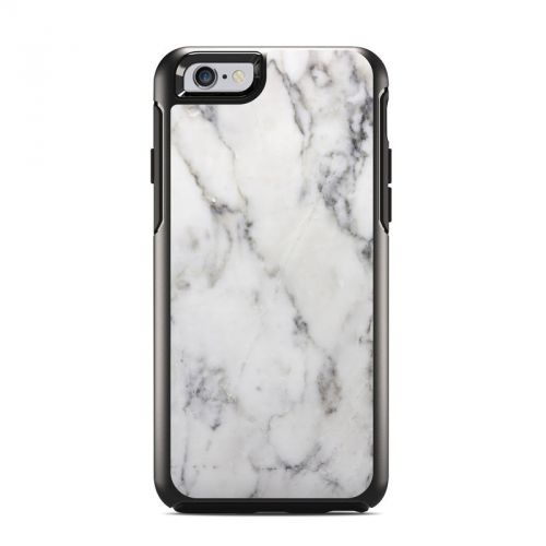 White Marble OtterBox Symmetry iPhone 6s Case Skin