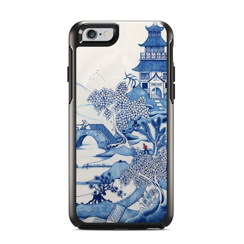 Blue Willow OtterBox Symmetry iPhone 6s Case Skin