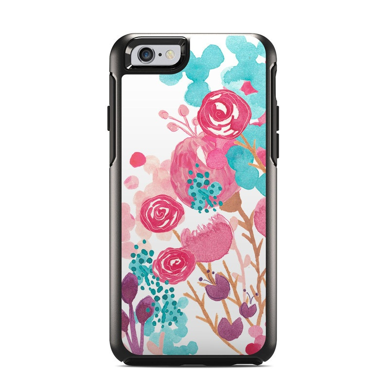 Blush Blossoms OtterBox Symmetry iPhone 6s Case Skin