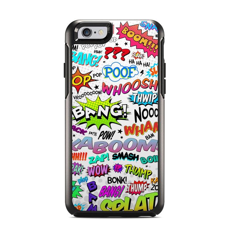 Comics OtterBox Symmetry iPhone 6s Case Skin