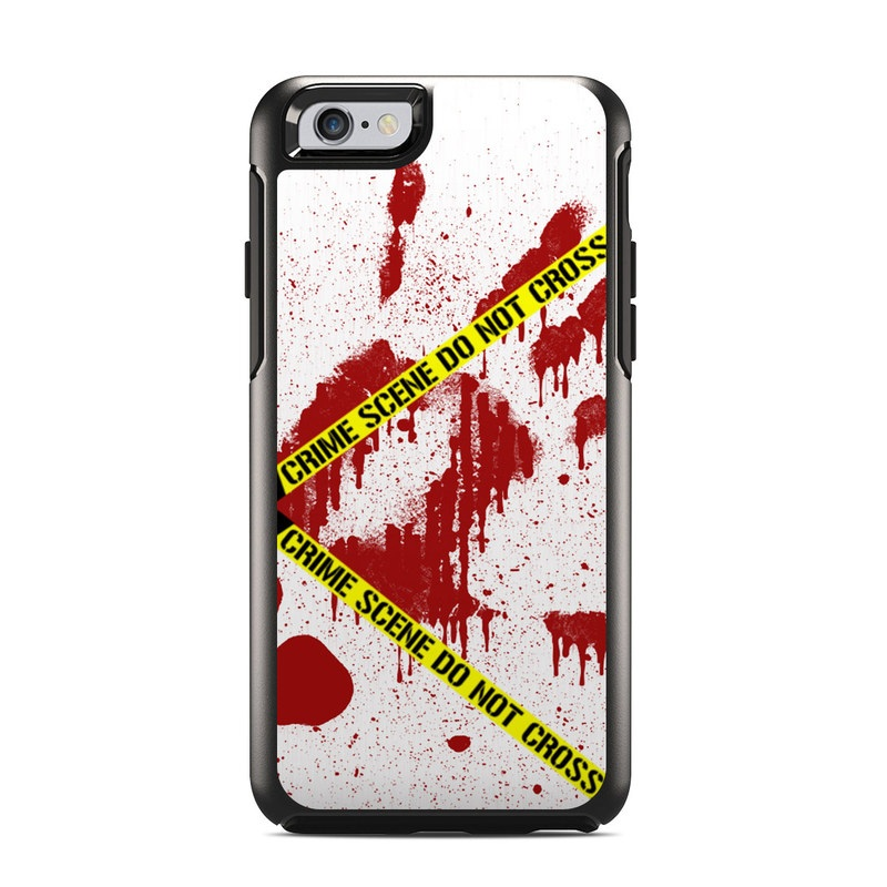 Crime Scene Revisited OtterBox Symmetry iPhone 6s Case Skin