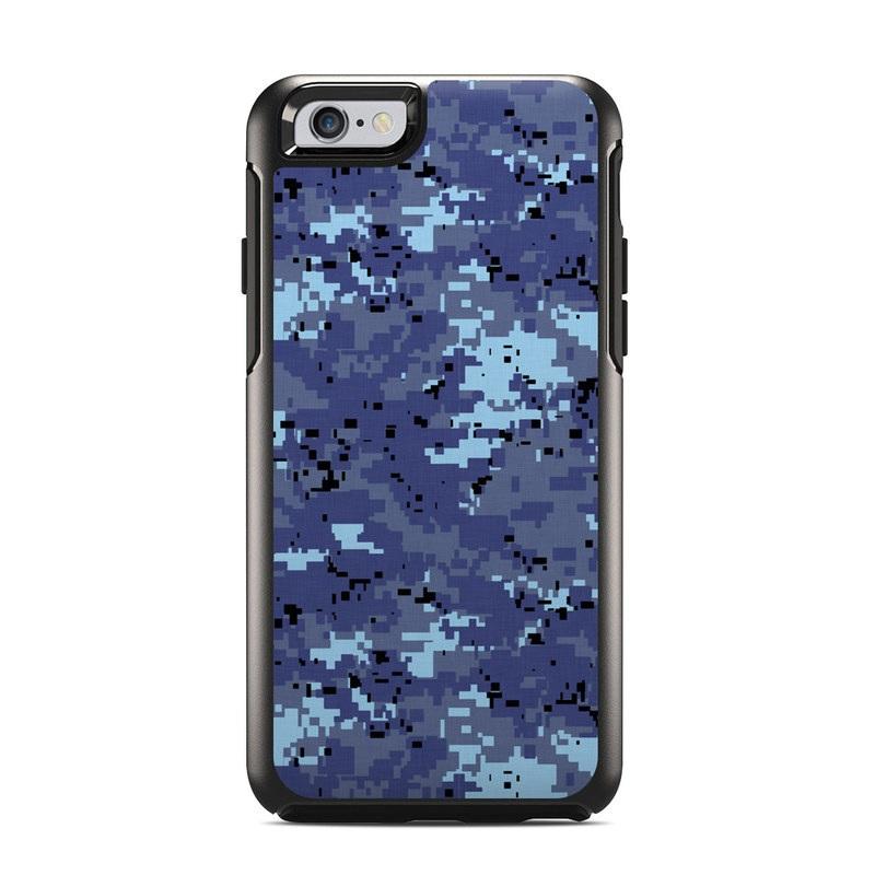 brand new 3f1e7 bde2b Digital Sky Camo OtterBox Symmetry iPhone 6s Case Skin