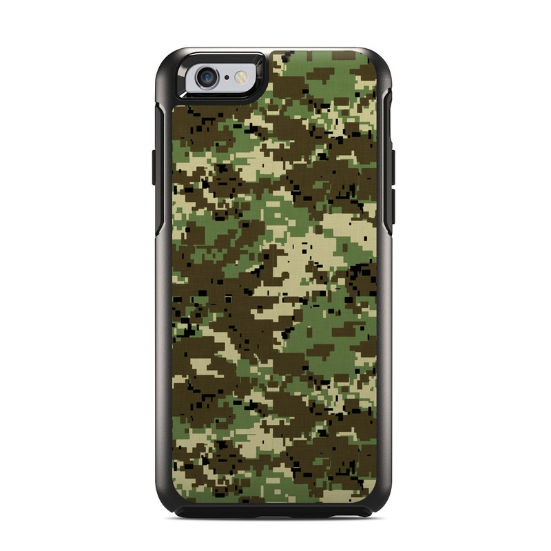Digital Woodland Camo OtterBox Symmetry iPhone 6s Skin