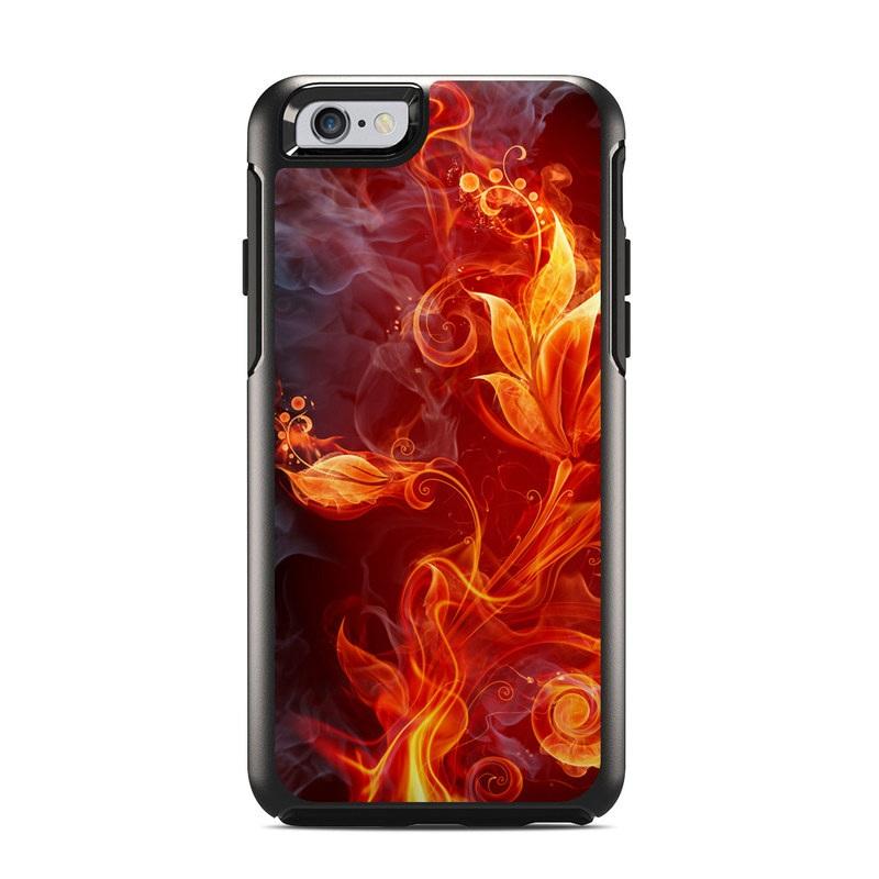 Flower Of Fire OtterBox Symmetry iPhone 6s Case Skin
