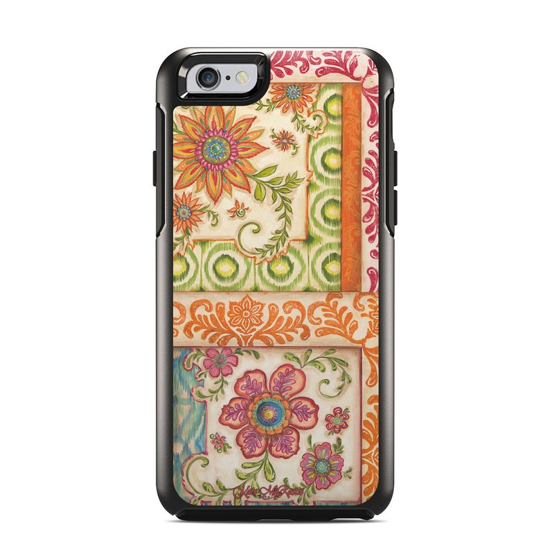 Ikat Floral OtterBox Symmetry iPhone 6s Skin
