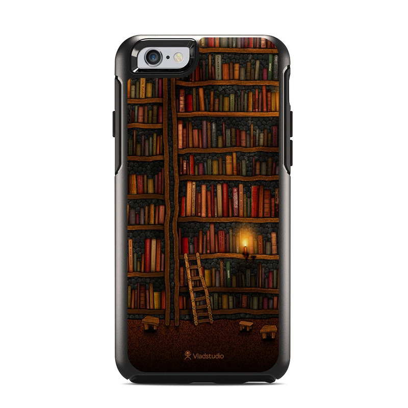 Library OtterBox Symmetry iPhone 6s Skin