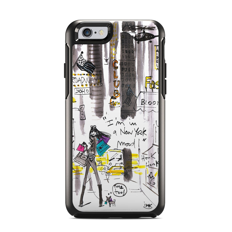 My New York Mood OtterBox Symmetry iPhone 6s Case Skin