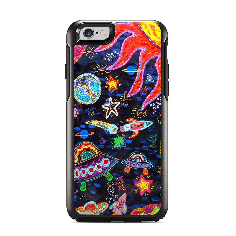 Out to Space OtterBox Symmetry iPhone 6s Skin