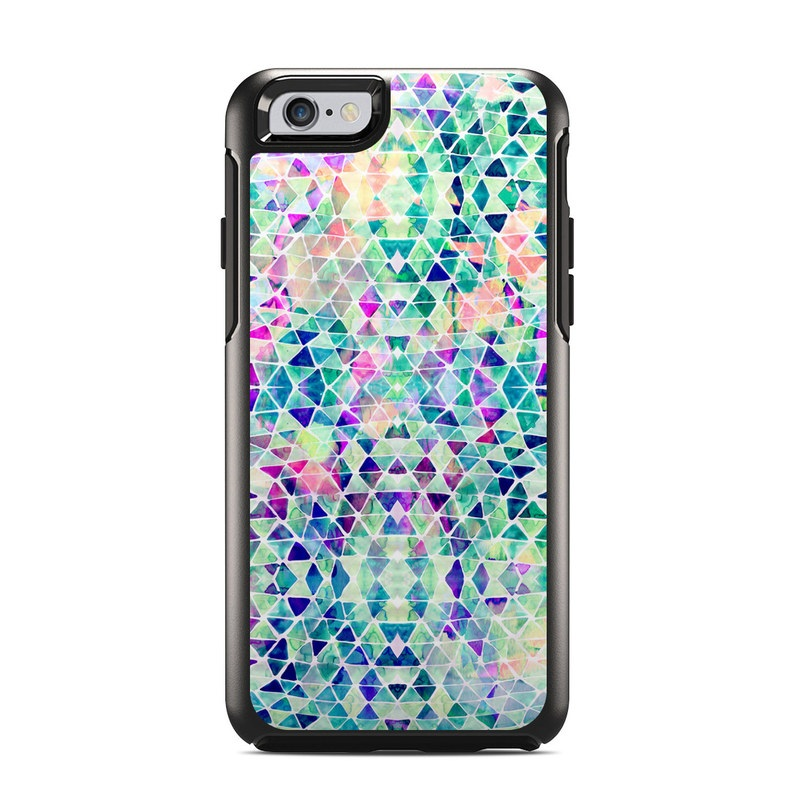 Pastel Triangle OtterBox Symmetry iPhone 6s Skin