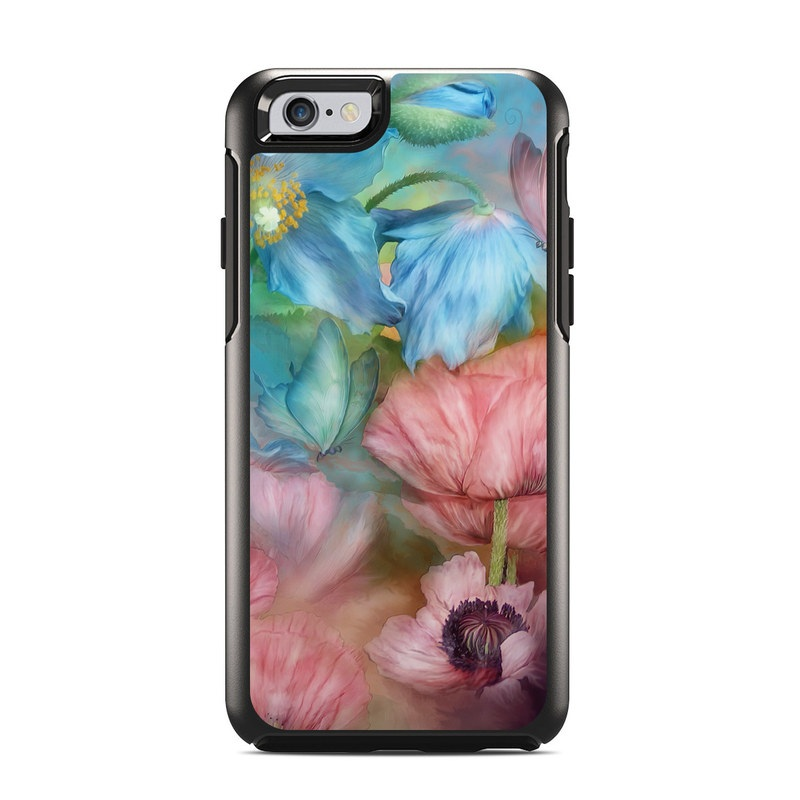 Poppy Garden OtterBox Symmetry iPhone 6s Skin