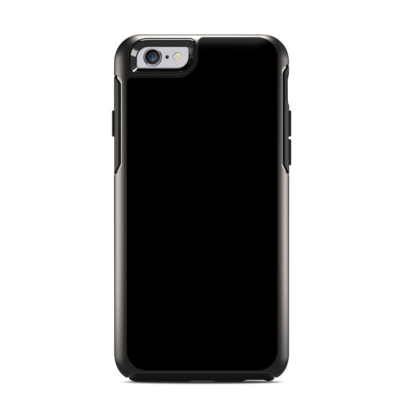 a2fc5a91cc5f Solid State Black OtterBox Symmetry iPhone 6s Case Skin
