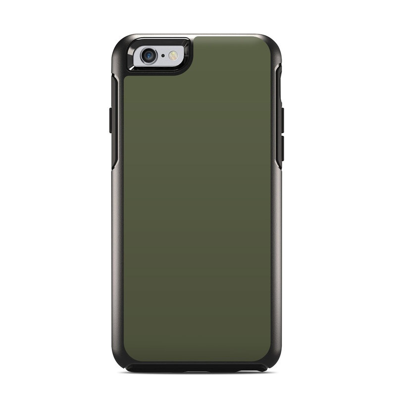 Solid State Olive Drab OtterBox Symmetry iPhone 6s Skin