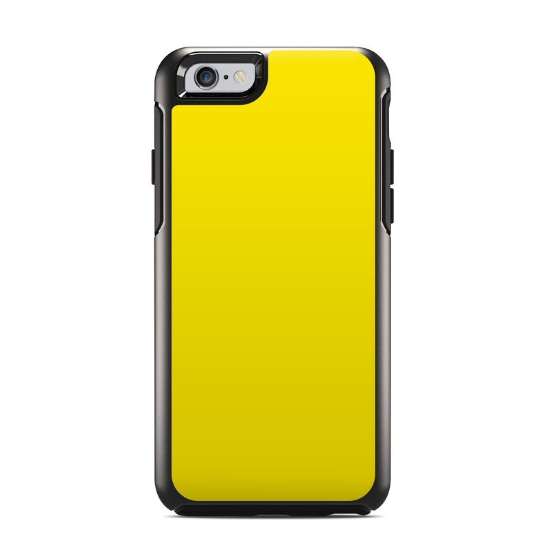 Solid State Yellow OtterBox Symmetry iPhone 6s Case Skin