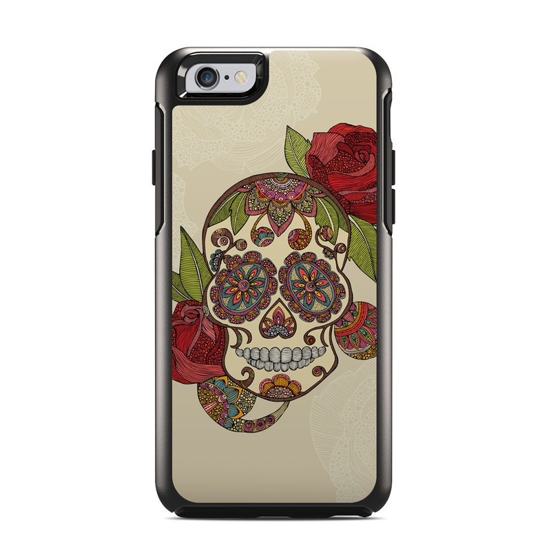 Sugar Skull OtterBox Symmetry iPhone 6s Skin